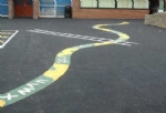 New Product Drive and Playground paint