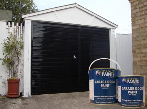 Garage Door Paint Revive Flaky Chipped Doors With Garage